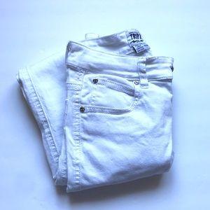 Tripp nyc White T-Back Jean